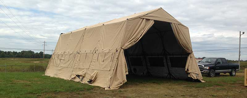 LME Shelters & Outdoor Venture Corporation - Our Products :: Military Shelters ...
