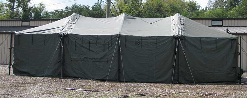 Modular General Purpose Tent System & Outdoor Venture Corporation - Our Products :: Military Shelters ...